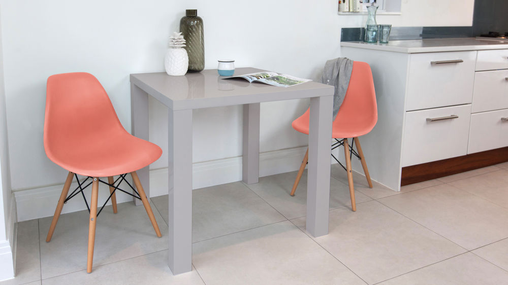 Pink Eames Small Dining Set