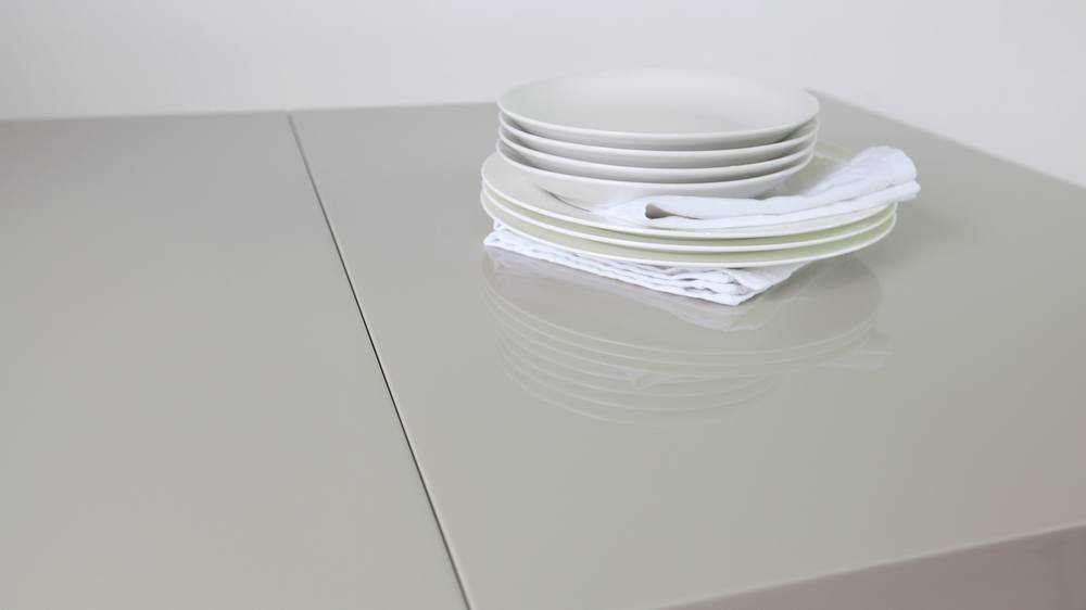 Contemporary and Modern White Gloss Dining Table
