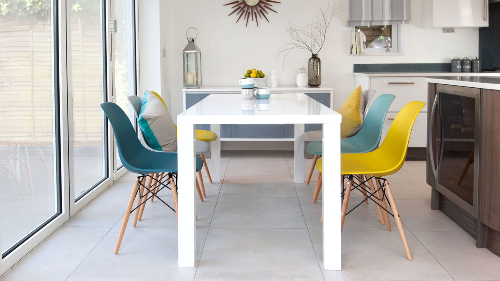 Colourful 6 Seater Dining Set