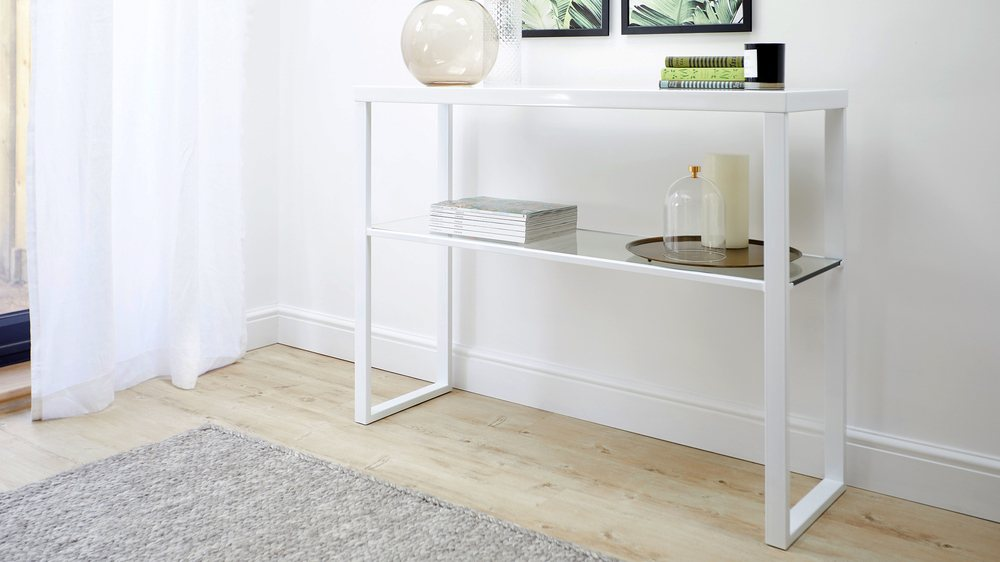 Affordable console table