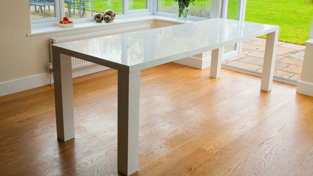 Cheap White Extending Dining Table UK