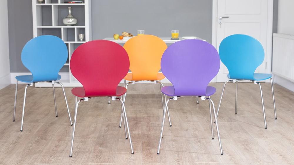 Modern Colourful Dining Chairs UK