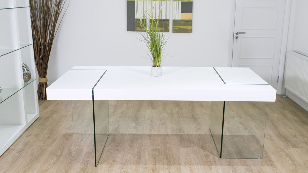Home Tables Dining Tables Fiera White Oak Dining Table