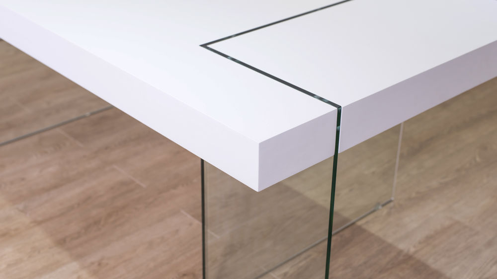 Contemporary White Dining Table UK Delivery