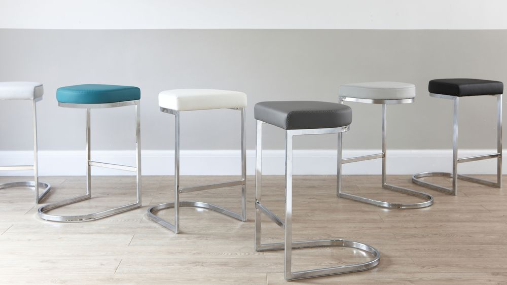 Designer Chrome Barstools Under £100