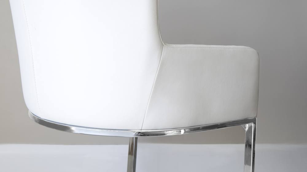 White Designer Dining Chair