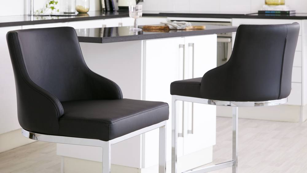 quality black kitchen barstools