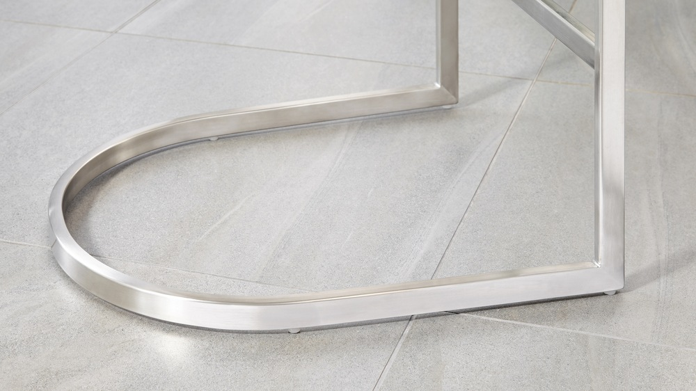 Stainless steel modern bar stools