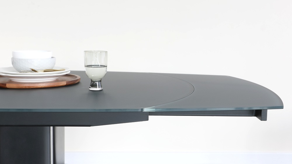 Fraser grey extending table