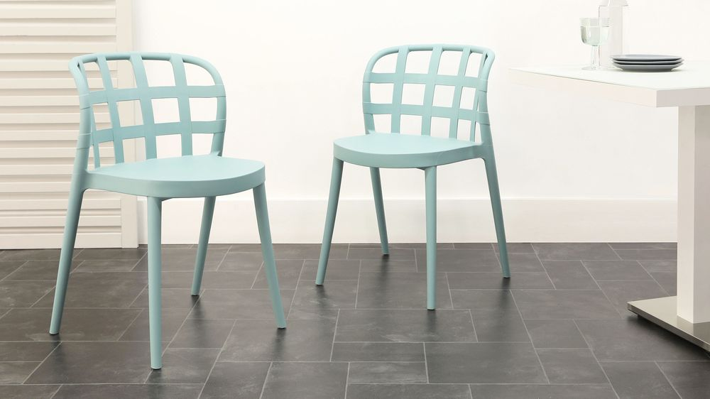 Buy aqua garden chairs