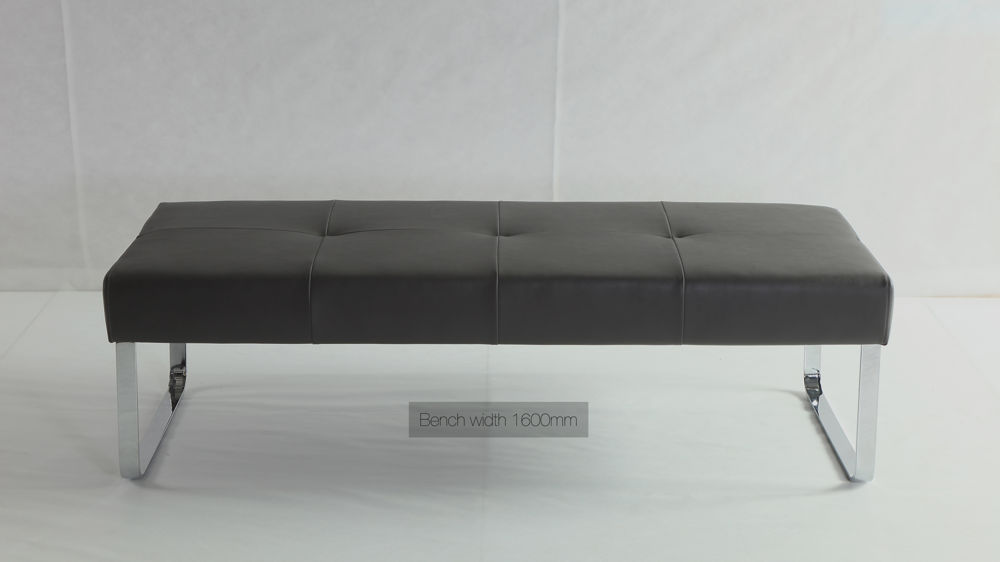 Black Dining Bench