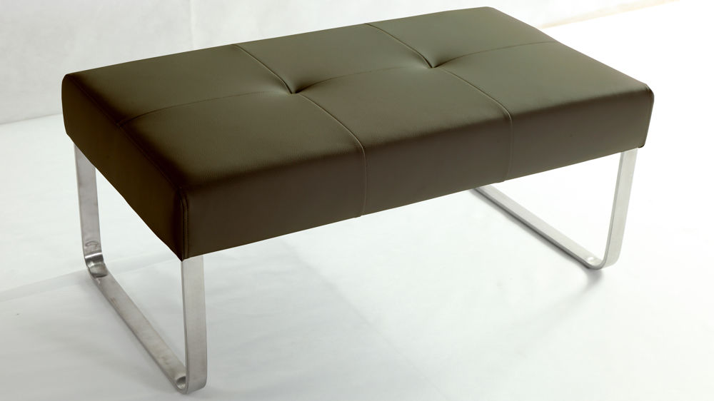 Modern Brown Dining Bench