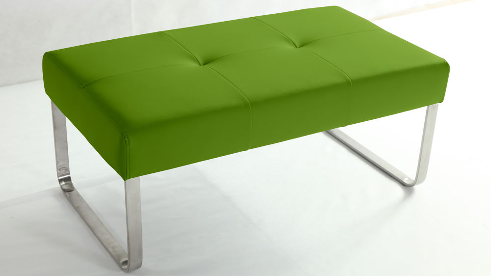 Green Dining Bench