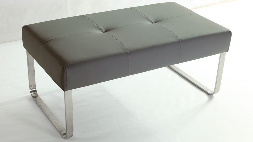 Light Grey Dining Bench