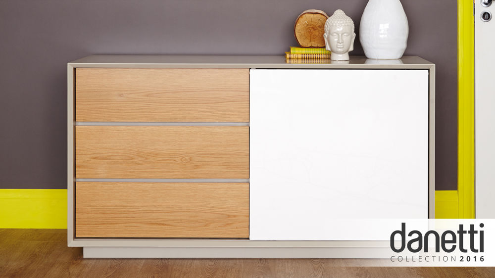 Modern Grey sideboard