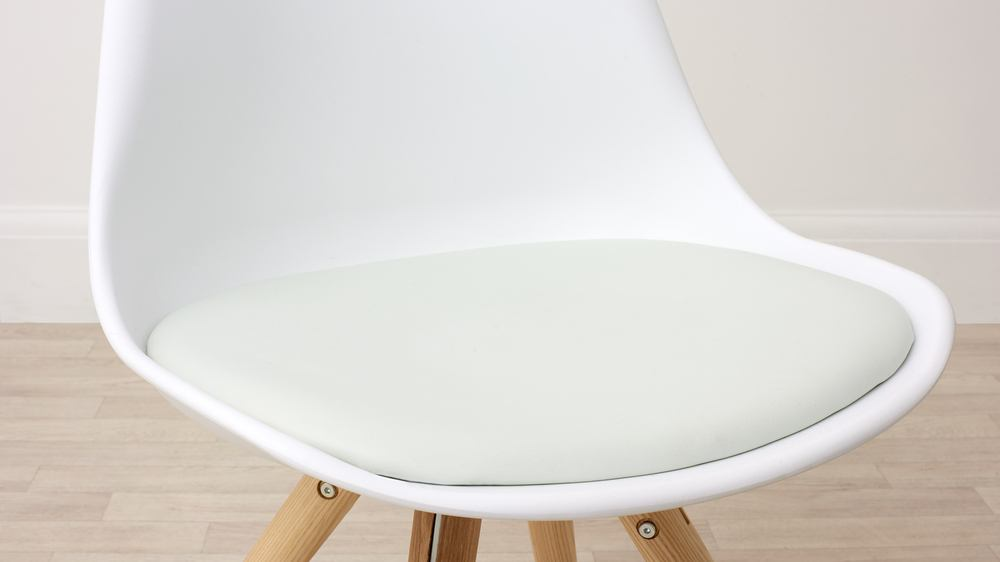 Comfortable White Stylish Dining Chair