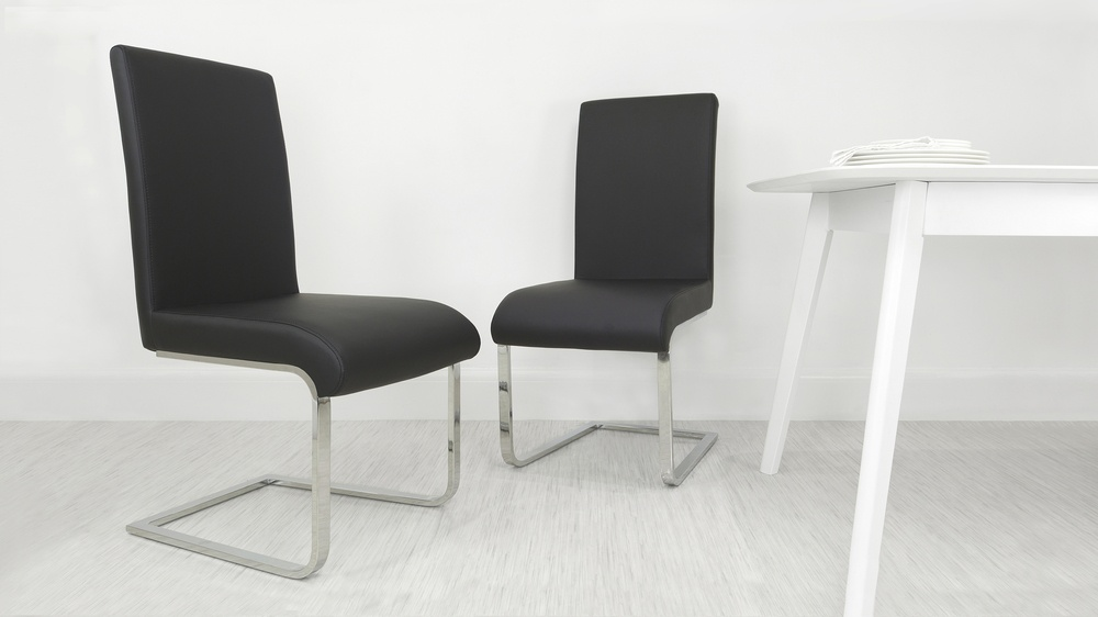 Black Cantilever Chairs UK Delivery