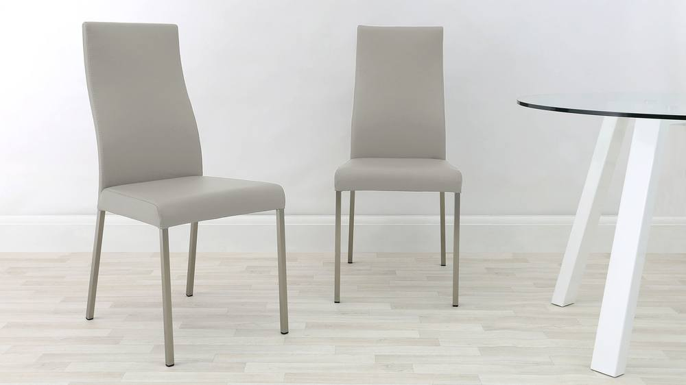 Cool Grey iva dining chair