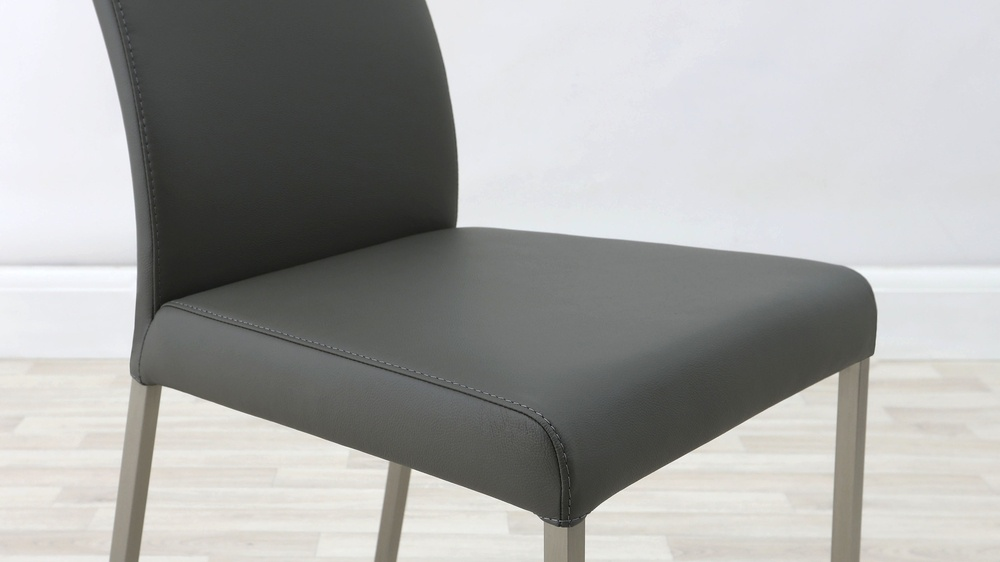 High Quality Real Leather Dining Chairs