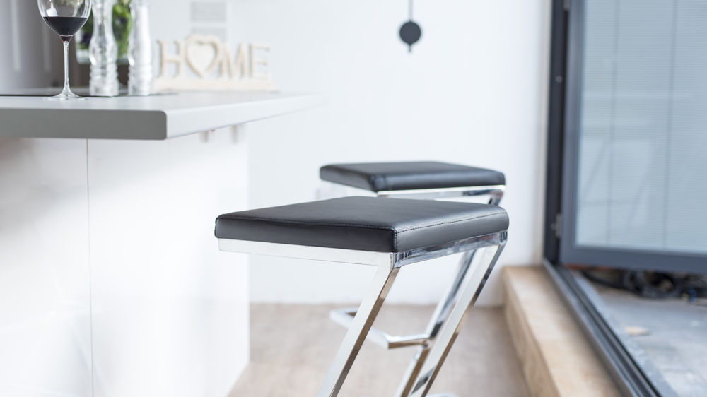 Contemporary Styled Fixed Height Bar Stools