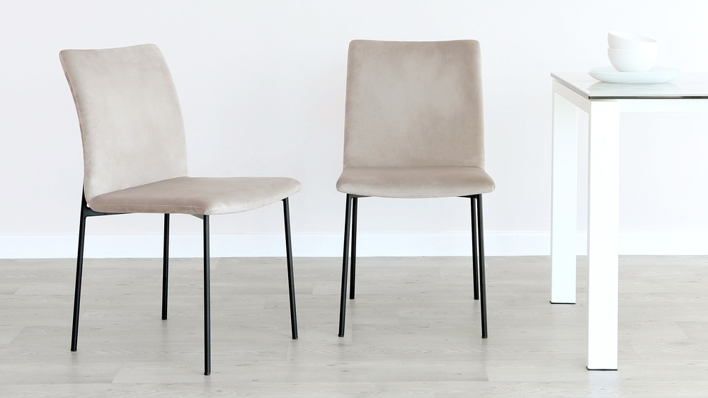 Leah Velvet Dining Chair