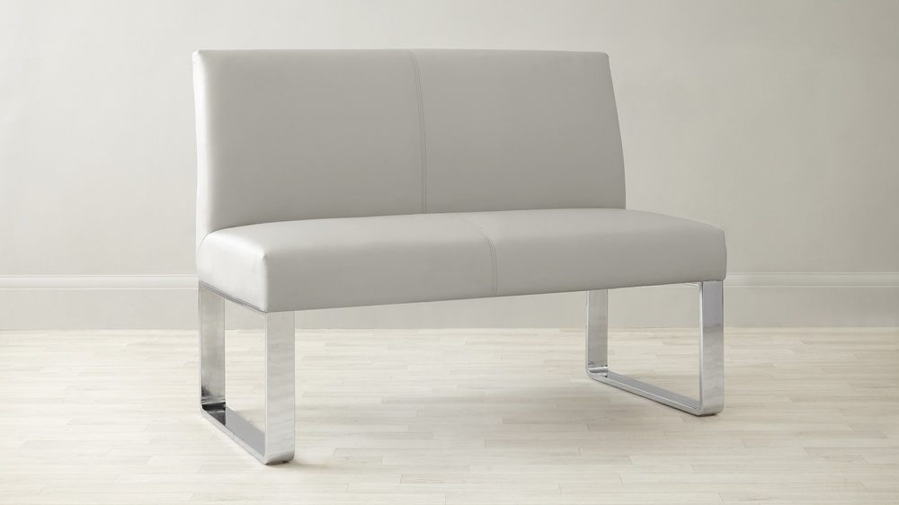 2 Seater Bench with Backrest