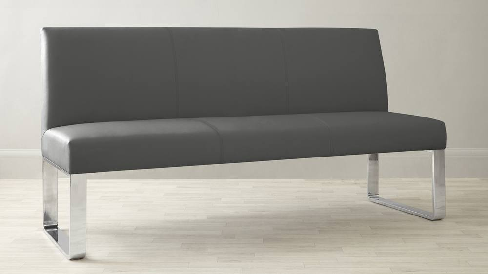 dark grey dining bench UK delivery