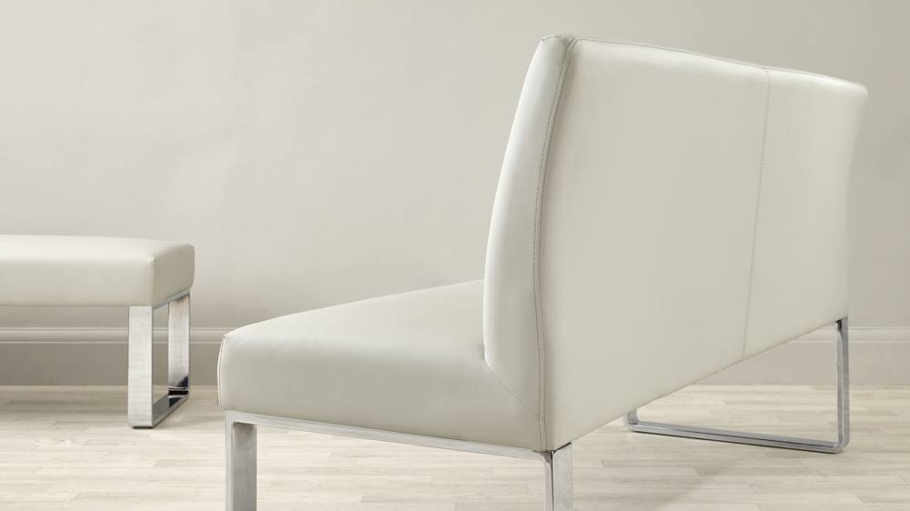 Loop 3 Seater Bench With Backrest Danetti