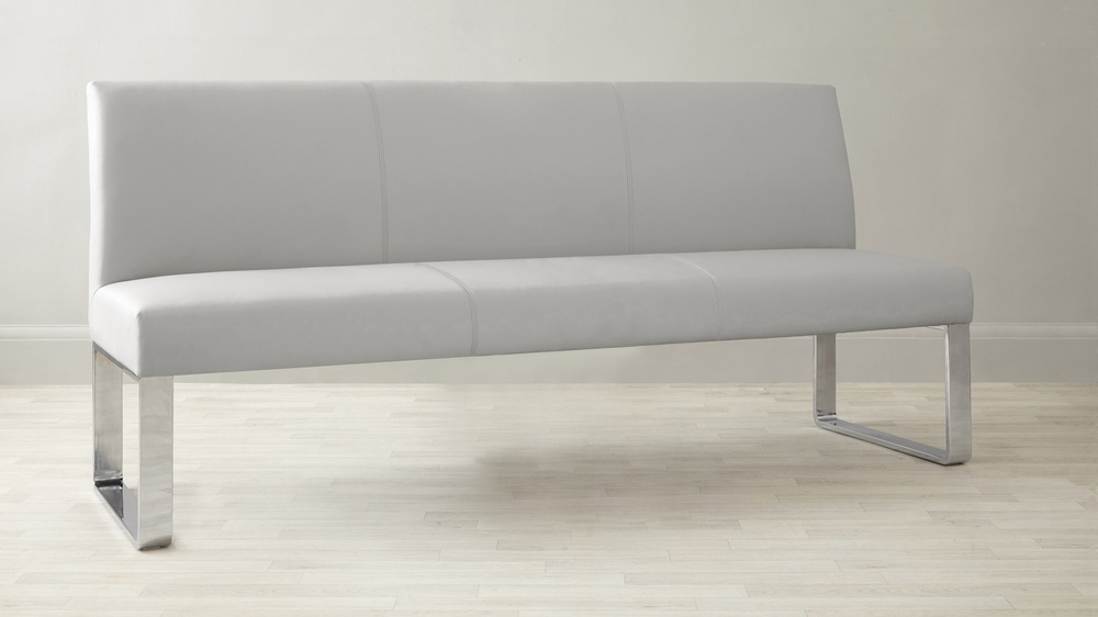 Loop 4 Seater Bench with Backrest