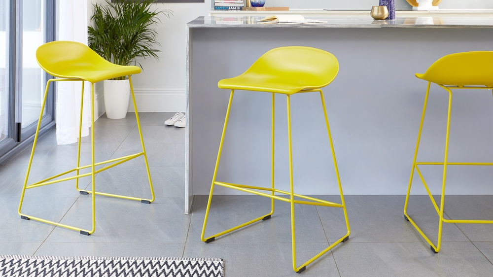 Bright bar stools