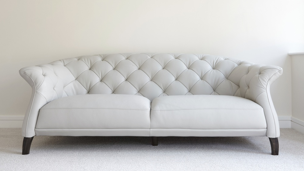 Modern  Seater Leather Chesterfield Sofa UK - Chesterfield sofa uk