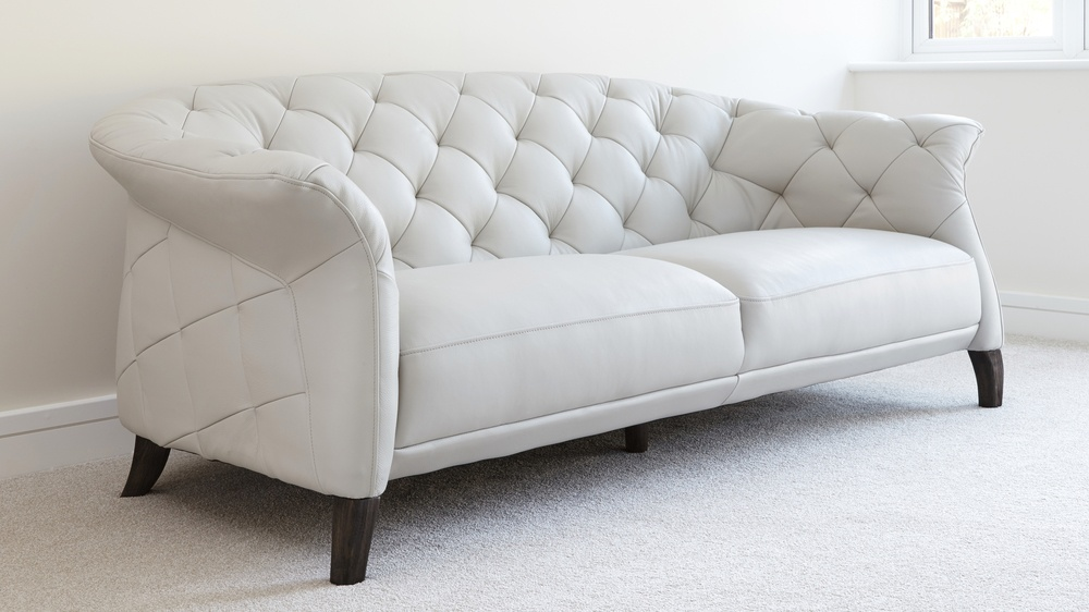 two or three seater modern leather sofa | UK Delivery