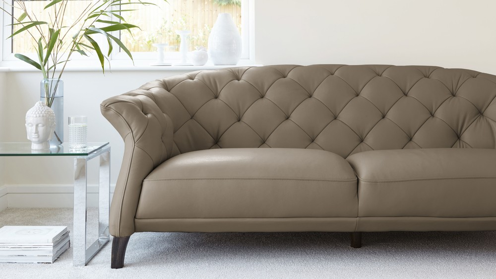 Cashmere 2-3 Leather Sofa