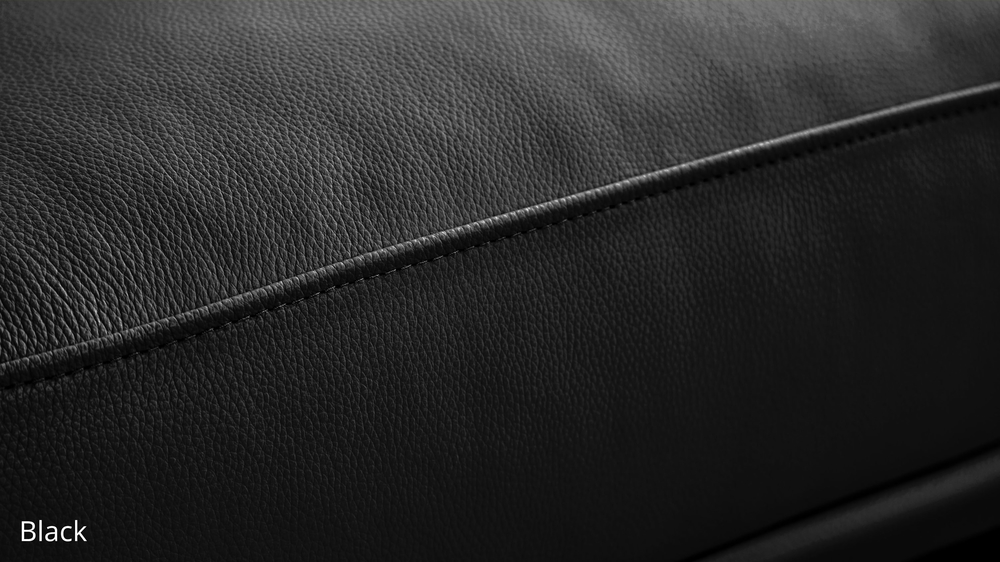 Black Durable Leather