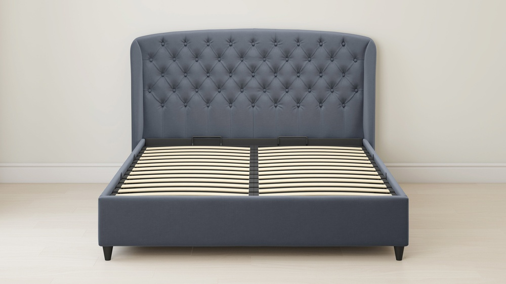 king size tufted ottoman