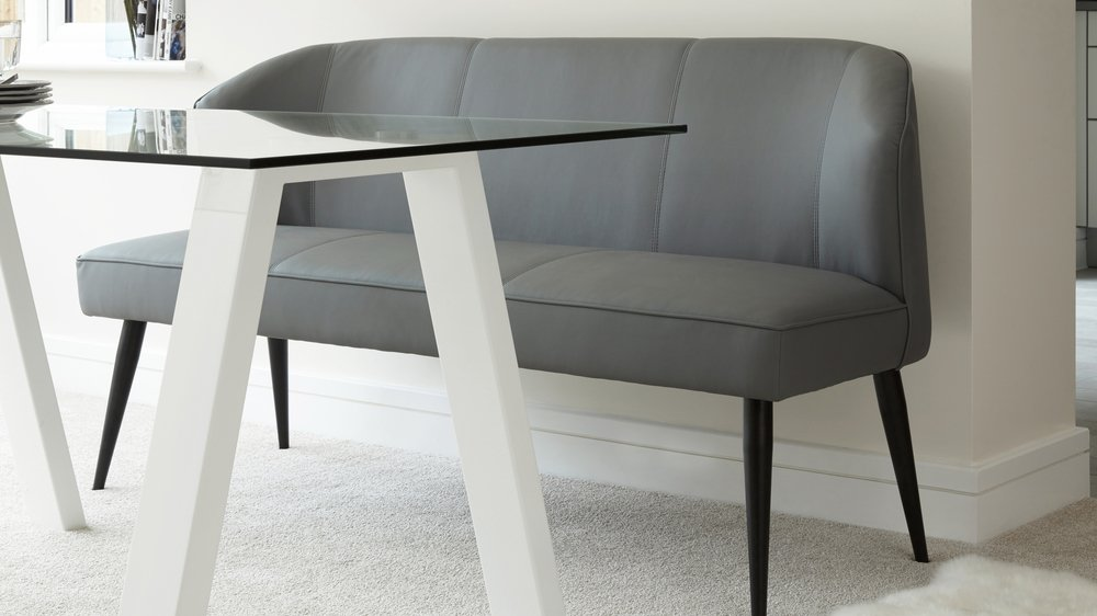 Three Seater Upholstered Dining Bench