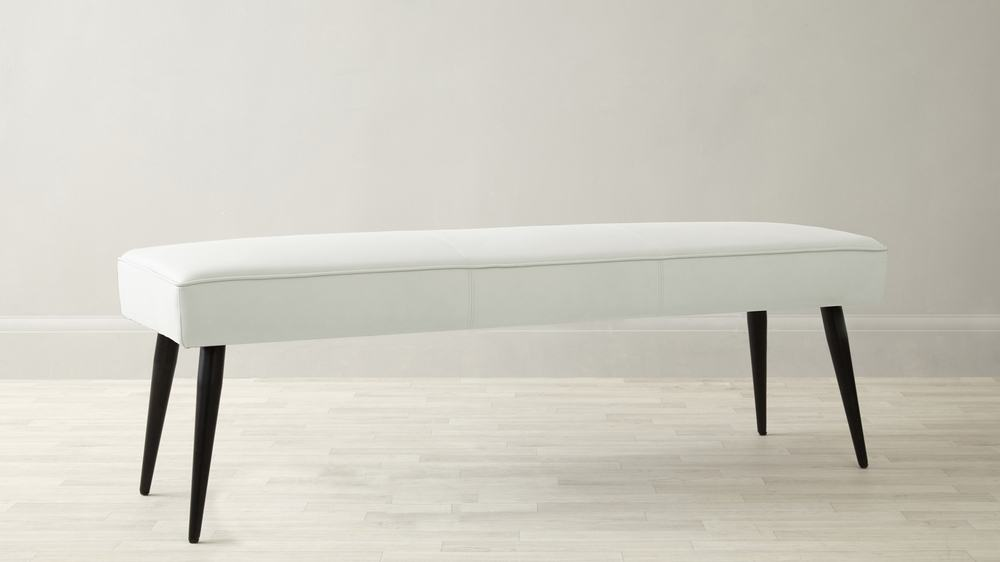 White dining benches UK delivery