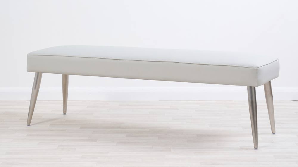 Mellow 3 Seater Stainless Steel Bench Without Back Uk