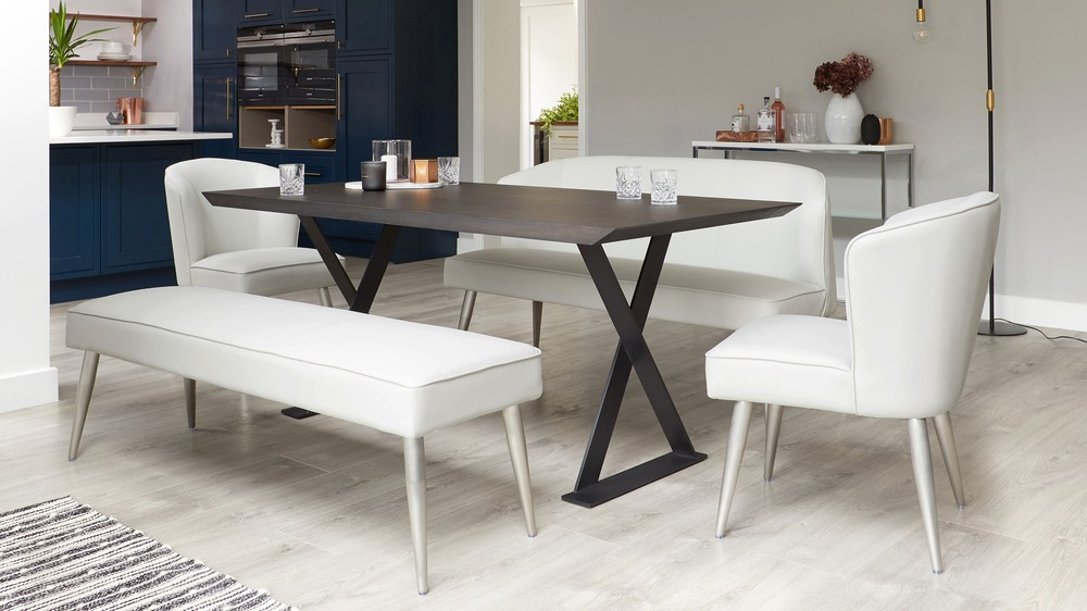 3 seater backless benches for kitchen