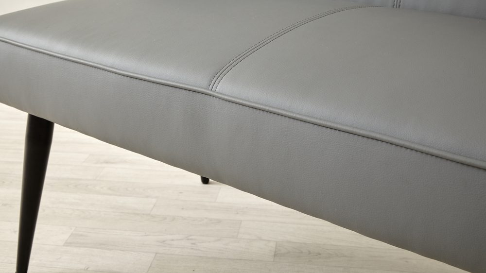 leather dining benches