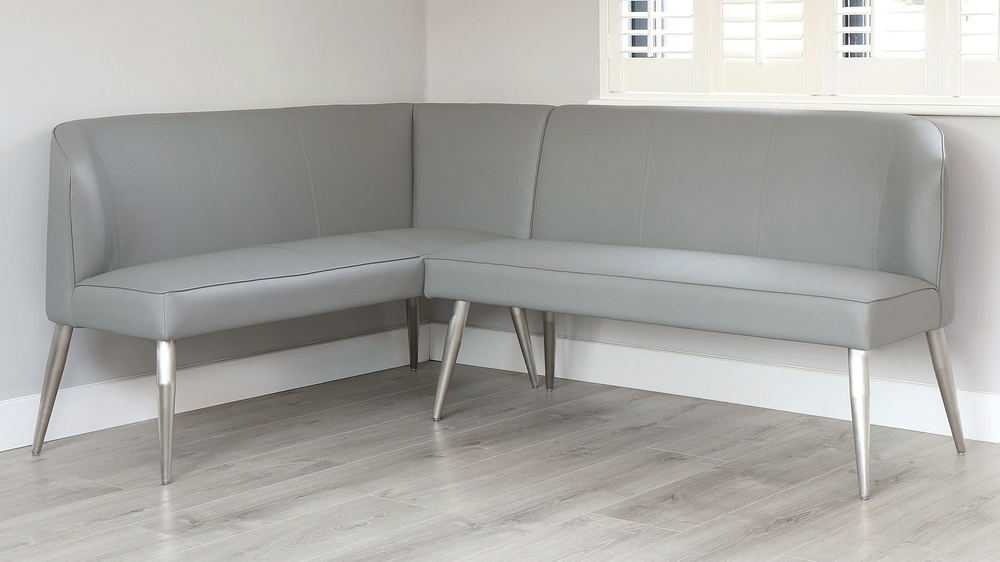 right hand dining bench
