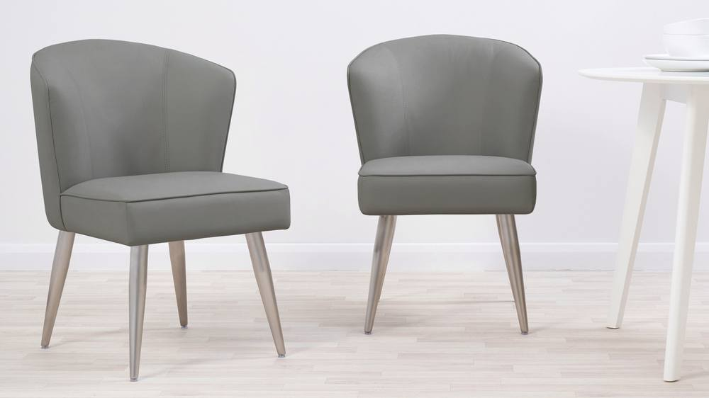 graphite grey dining chairs