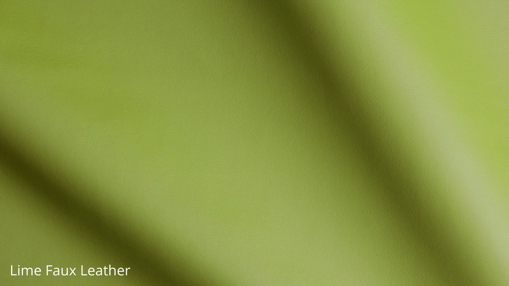 Lime Faux Leather