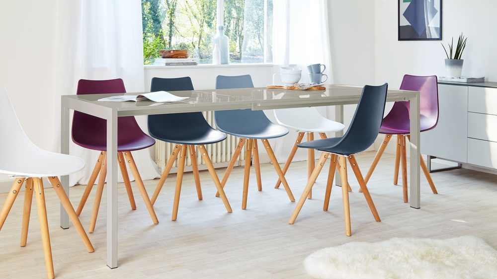 Modern gloss dining table UK