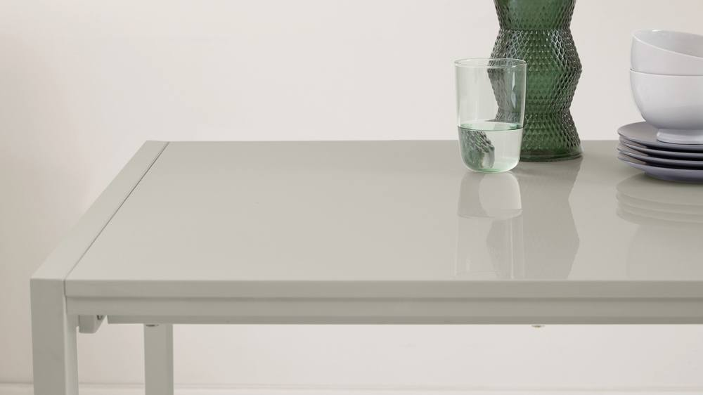 High Gloss Grey Table