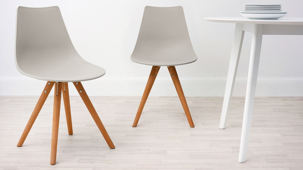 practical grey family dining chairs under fifty pounds