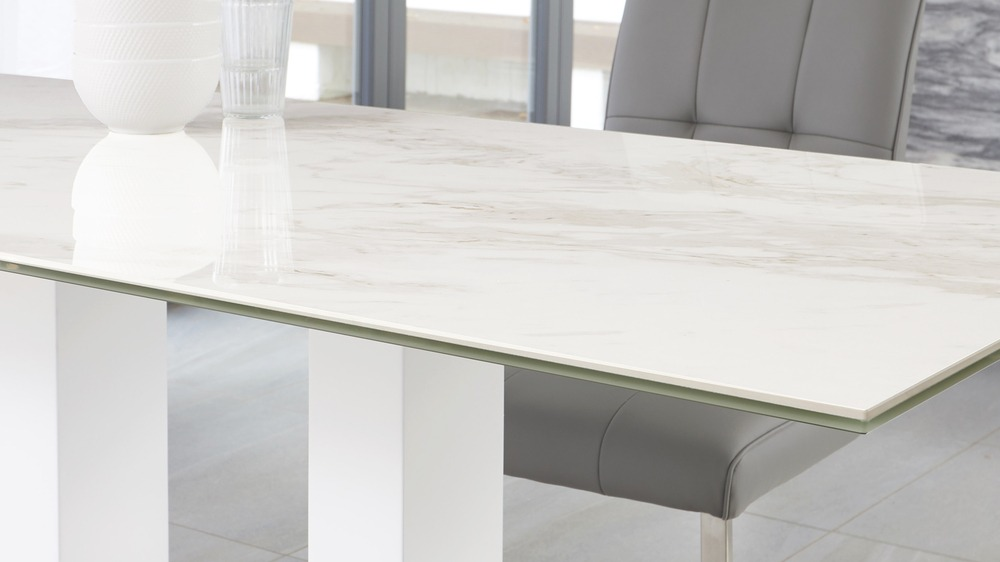 marble gloss table