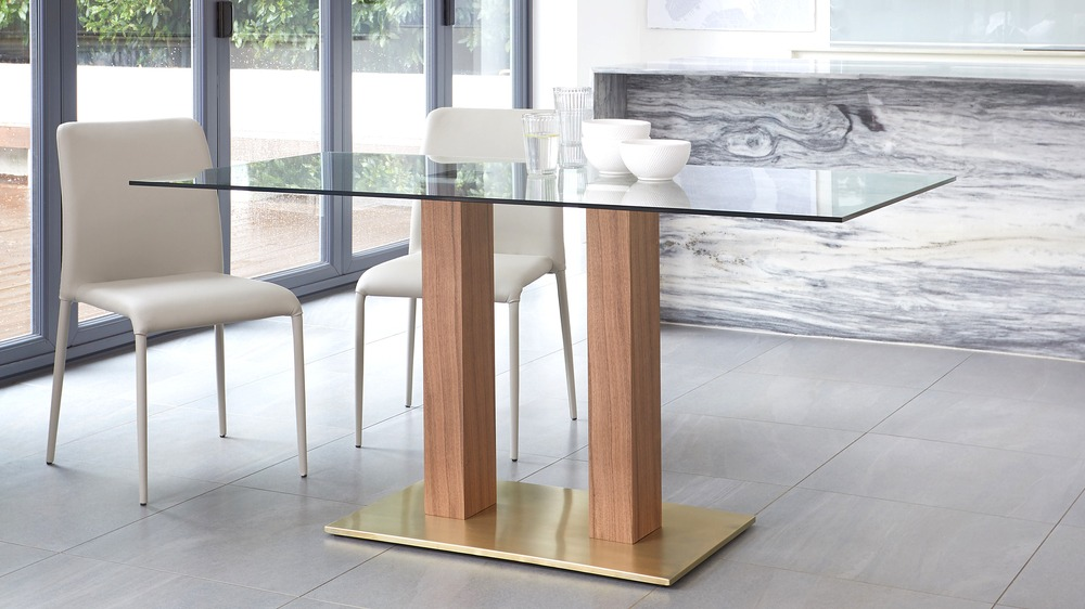 contemporary dining bench  set