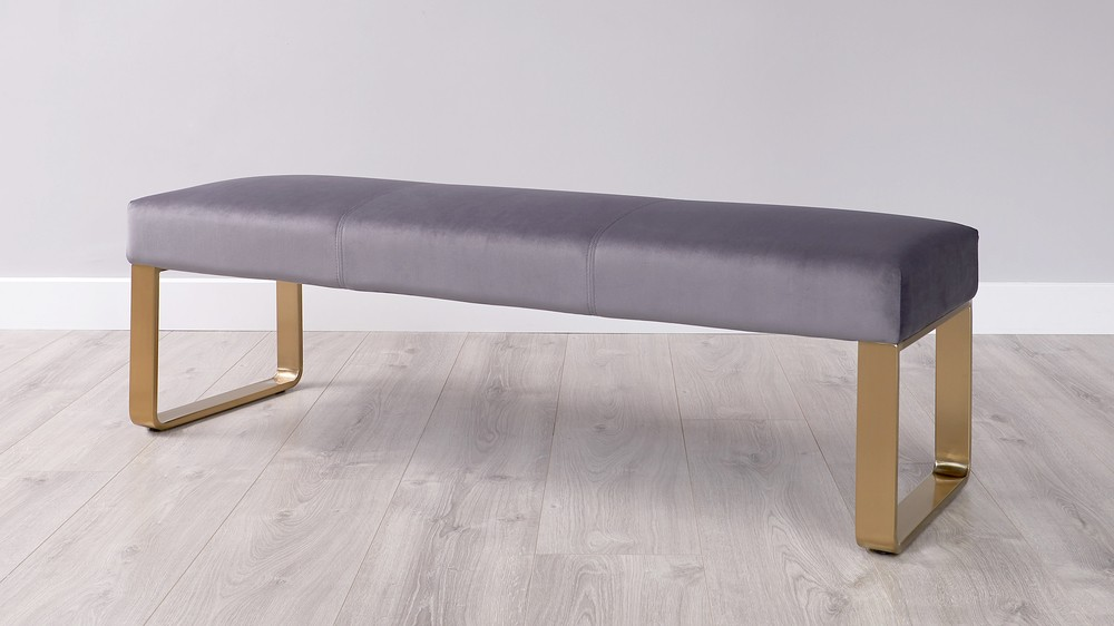 3 seater backless bench