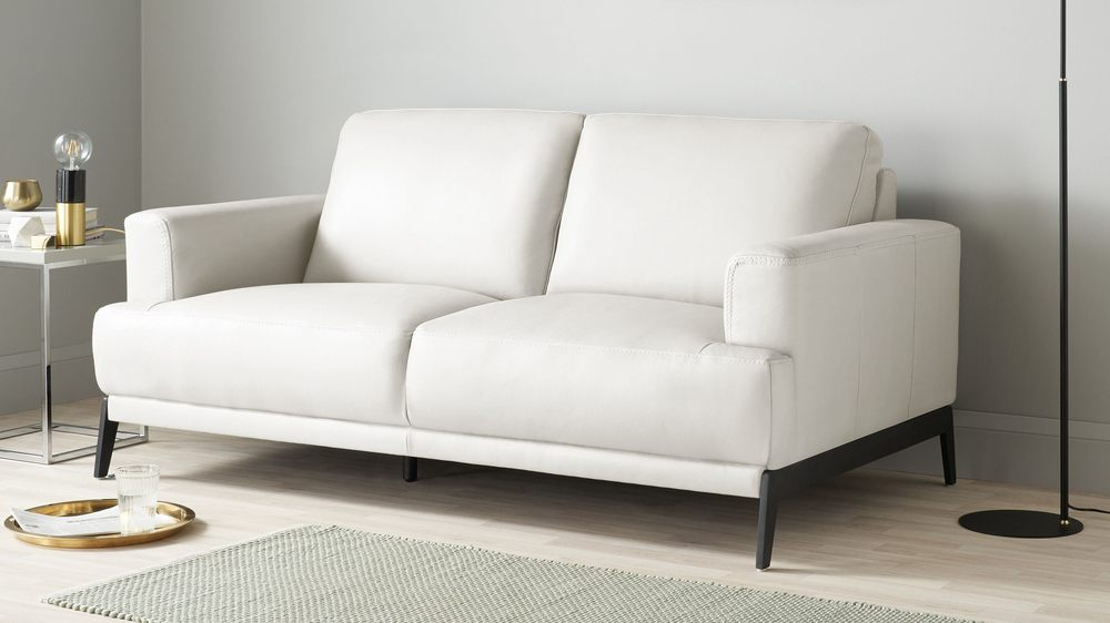 Mona 2 Seater Leather Sofa